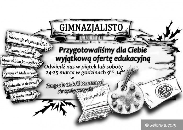 Jelenia Góra: Rzemiosła zapraszają na Dni Otwarte szkoły