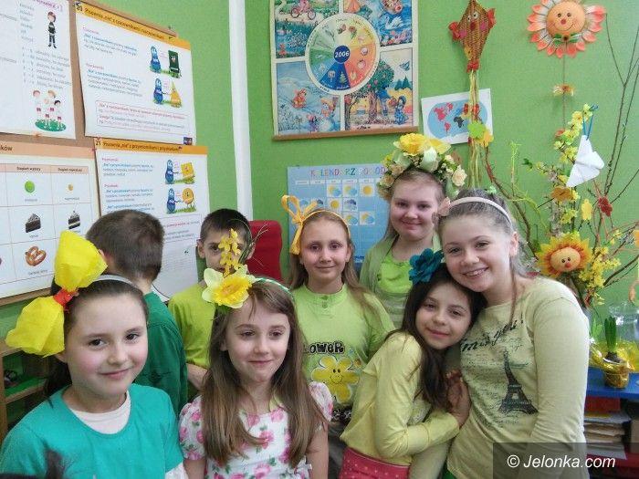 Jelenia Góra: W SP 3 było wiosennie i radośnie