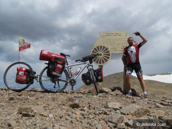 Jelenia Góra: Damian Drobyk – tym razem rowerem po Etiopii