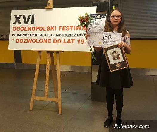 Jelenia Góra: Nagroda dla Natalii Stich z MDK