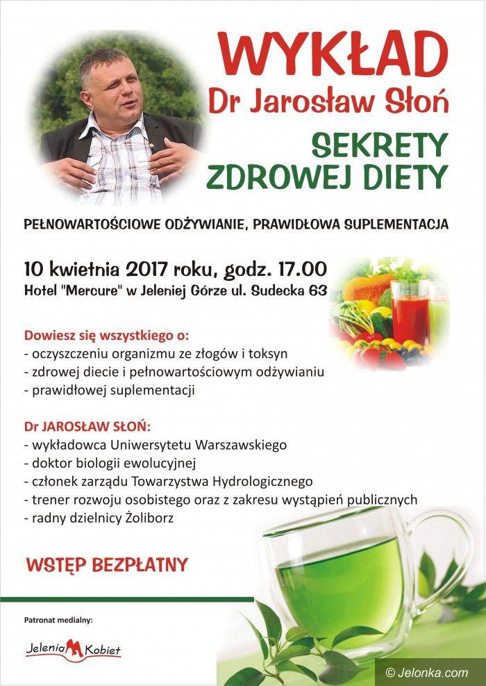 Jelenia Góra: Wykład o sekretach zdrowej diety