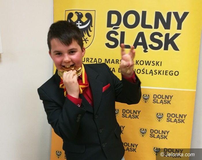 Kowary: Jaś Lewandowski z Kowar bardzo zDolnym Ślązaczkiem