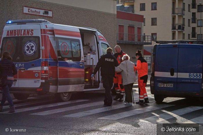 Jelenia Góra: Potrącenie na przejściu dla pieszych
