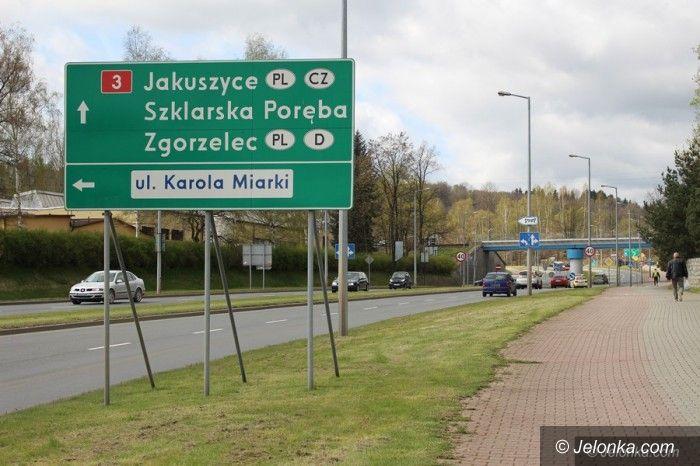 Jelenia Góra: Zmiana na skrzyżowaniu Karola Miarki z Sobieskiego?