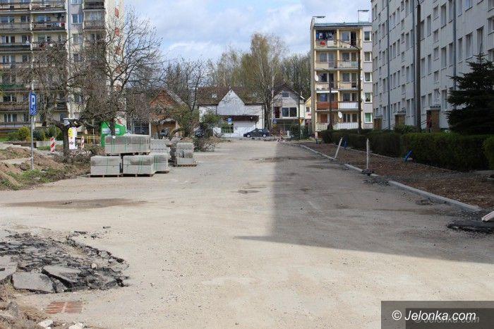 Jelenia Góra: Rozpoczął się remont ulicy Kolberga