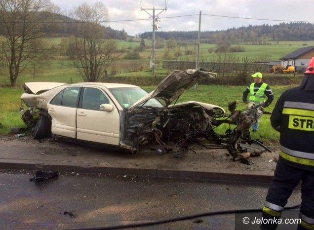 Region: Zderzenie trzech aut w Kaczorowie. Są ranni.