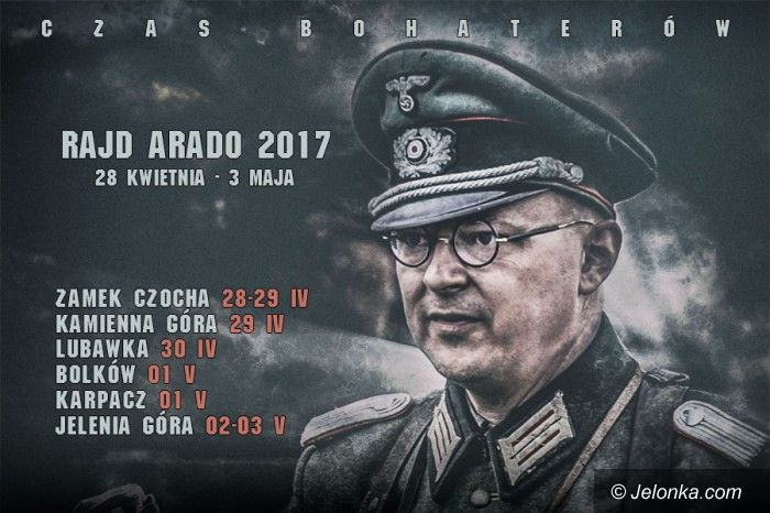Region: Już wkrótce Rajd Arado 2017