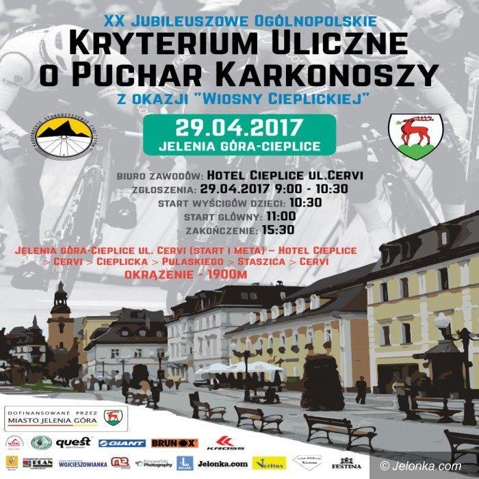 Jelenia Góra: W przyszłą sobotę Ogólnopolskie Kryterium Uliczne