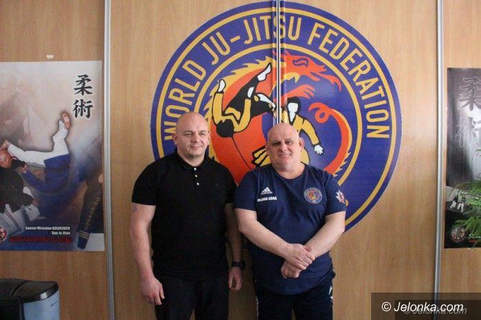 Jelenia Góra: Uzgodnienia z prezesem Polskiego Związku Ju Jitsu