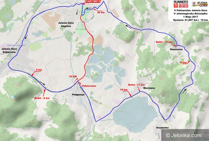 Region: Półmaraton Jeleniogórski – utrudnienia w ruchu