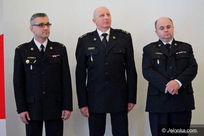 Jelenia Góra: Komendant miejski PSP przekazał dowodzenie