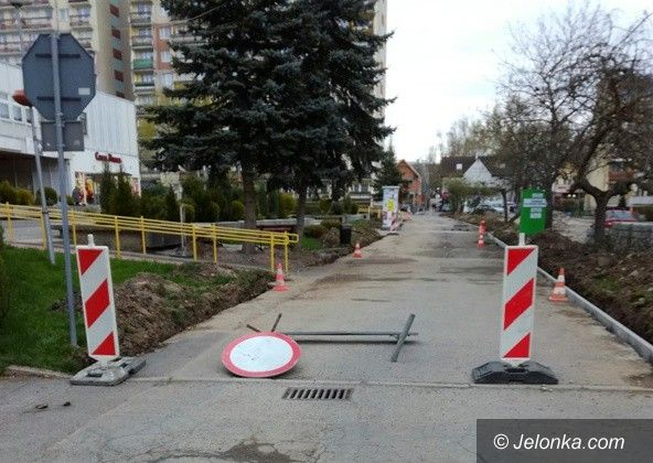 Jelenia Góra: Uciążliwy remont na ul. Kolberga