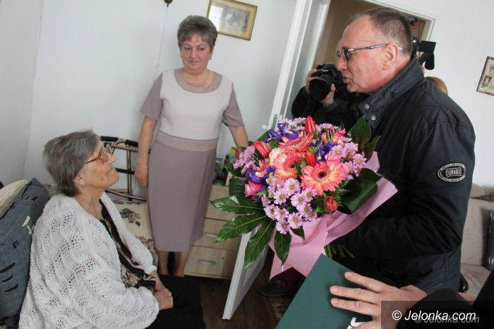 Jelenia Góra: Pani Emeryka ma już 100 lat