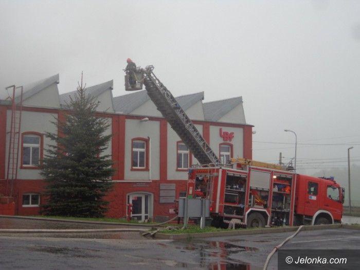 Region: Pożar zakładu w Starej Kamienicy