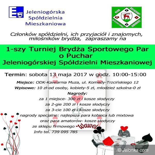 Jelenia Góra: W sobotę turniej brydżowy dla par