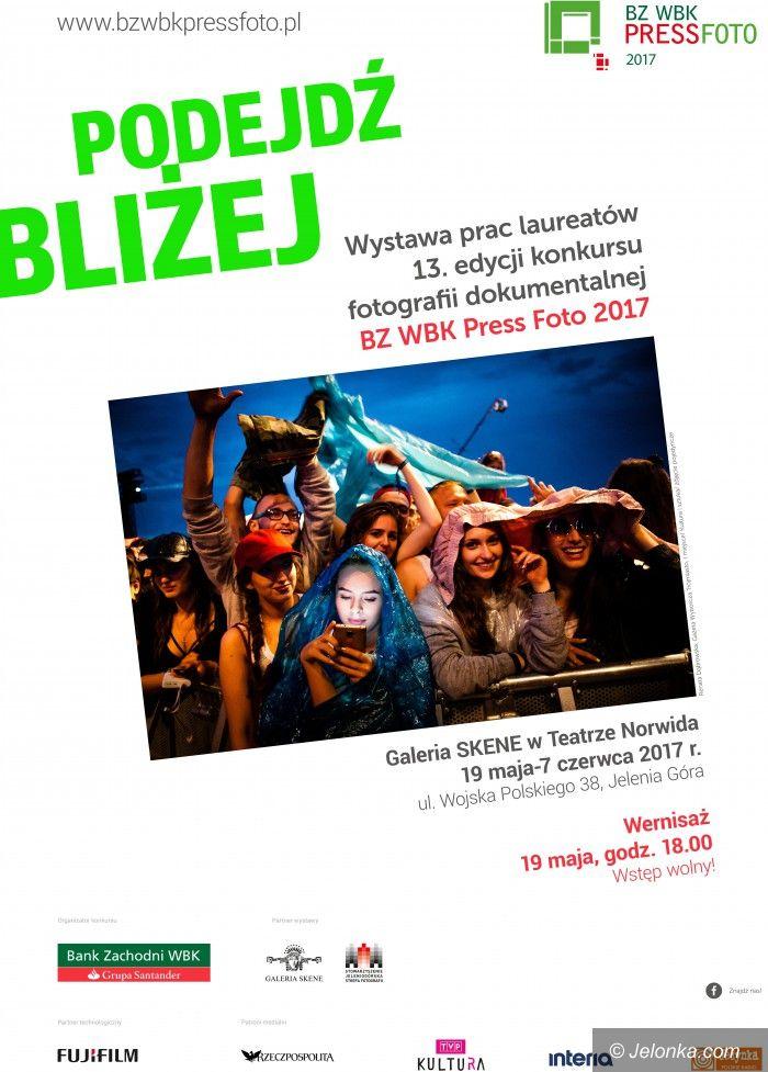 Jelenia Góra: Wystawa BZ WBK Press Foto i warsztaty w Skene