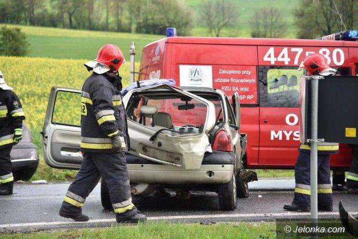 Region: Wypadek na drodze krajowej w okolicy Mysłowa