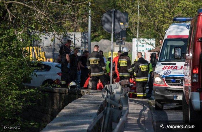 Region: Na drodze w Kaczorowie kierowca zasłabł i zmarł