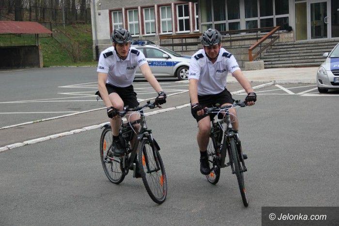 Jelenia Góra: Ruszyły policyjne patrole rowerowe
