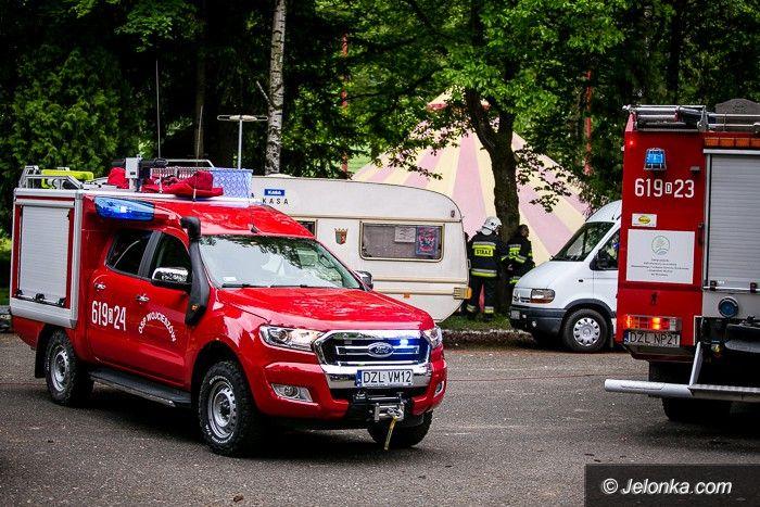 Region: Wypadek w cyrku w Wojcieszowie