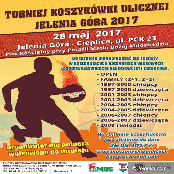 Jelenia Góra: Ważne informacje odnośnie turnieju streetball'a