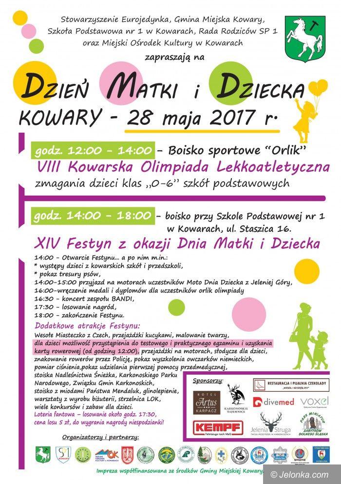 Kowary: Festyn z okazji Dnia Matki i Dnia Dziecka w Kowarach