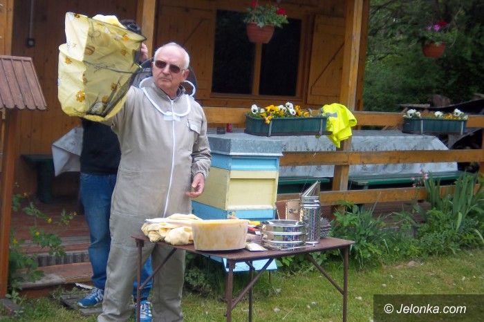 Jelenia Góra: Wiosenna wizyta przedszkolaków w pasiece