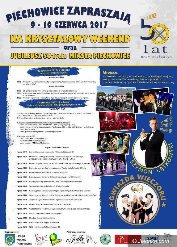Piechowice: Kryształowy Weekend i 50–lecie miasta Piechowice