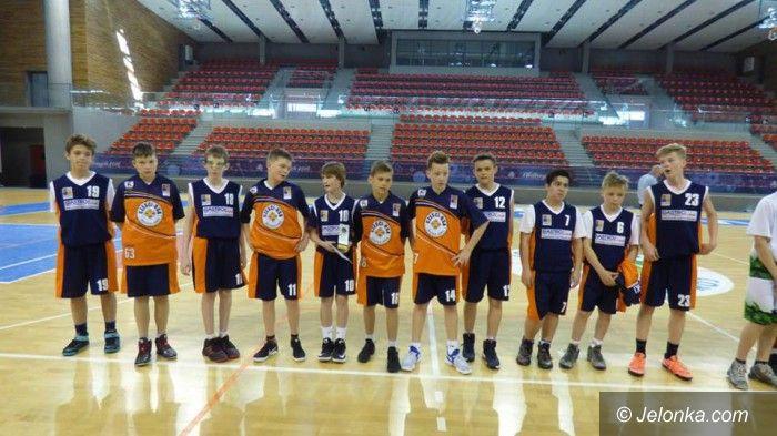 Wałbrzych: Mini–koszykrze Sudetów tuż za podium