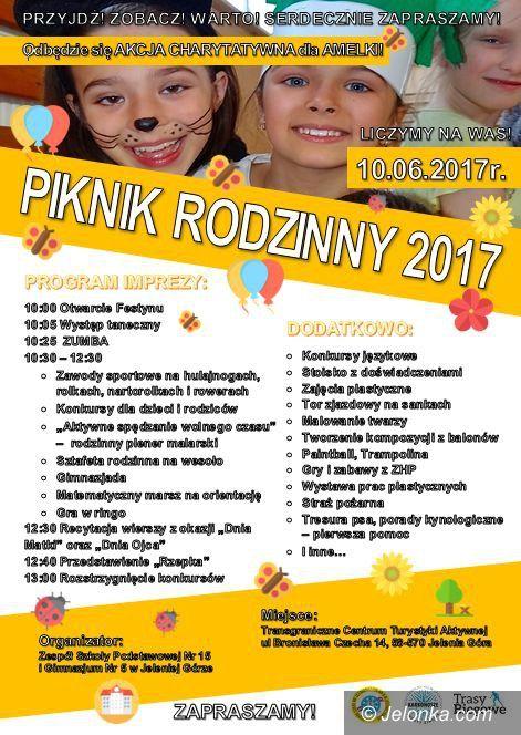 Jelenia Góra: W sobotę Piknik Rodzinny w Sobieszowie