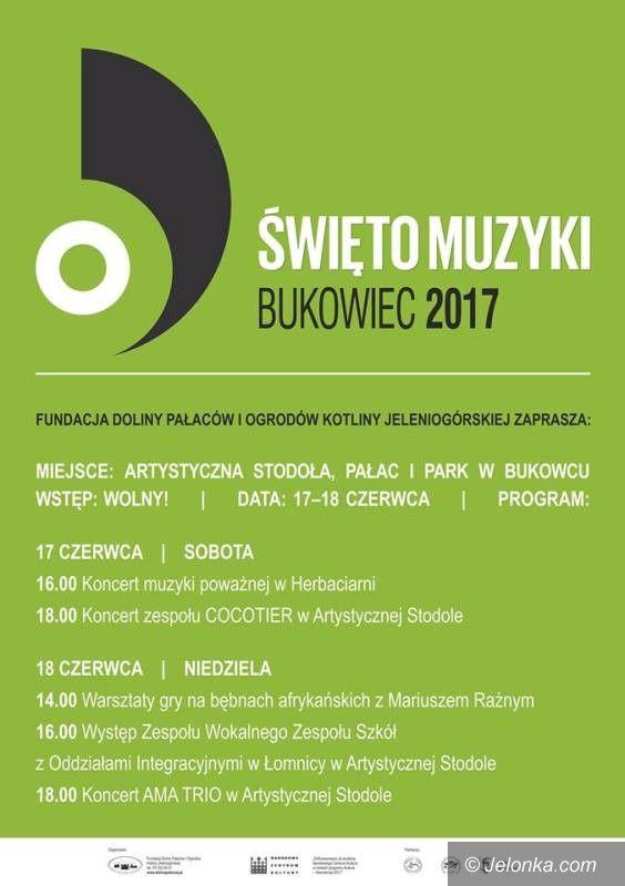 Bukowiec: Już w ten weekend święto muzyki w Bukowcu