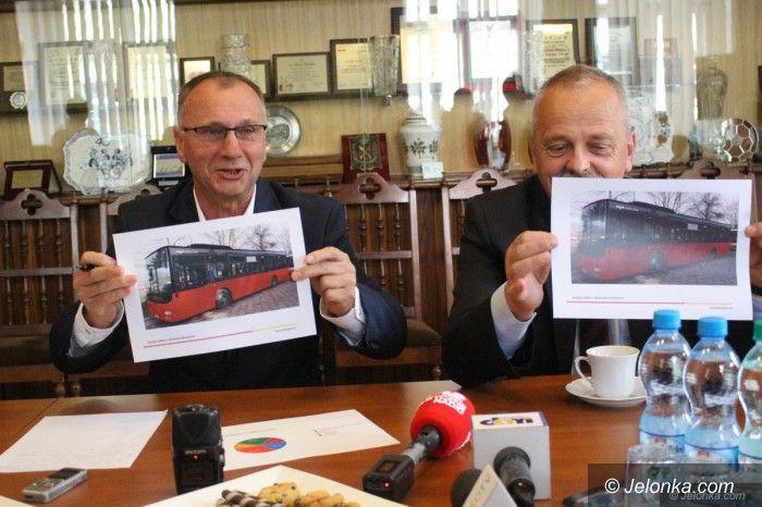 Jelenia Góra: Wybrali kolor autobusów MZK