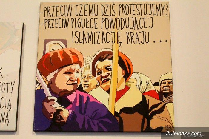 Jelenia Góra: Zabawna wystawa memów Marty Frej