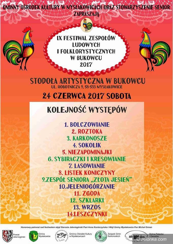 Region: Festiwal Folklorystyczny – w sobotę