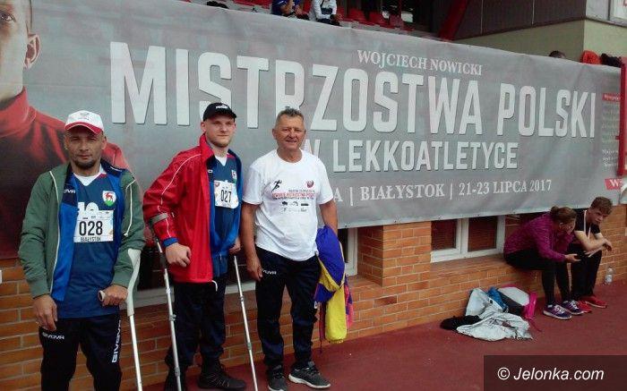 Białystok: Lekkoatleci Startu Simet z medalami MP