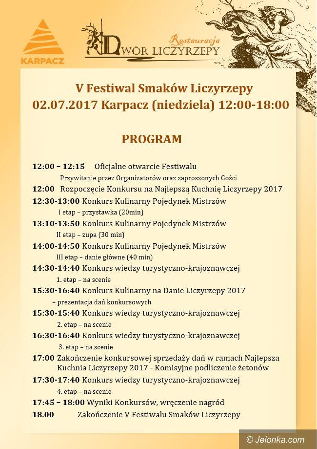 Karpacz: Festiwal Smaków Liczyrzepy i Jarmark Ducha Gór