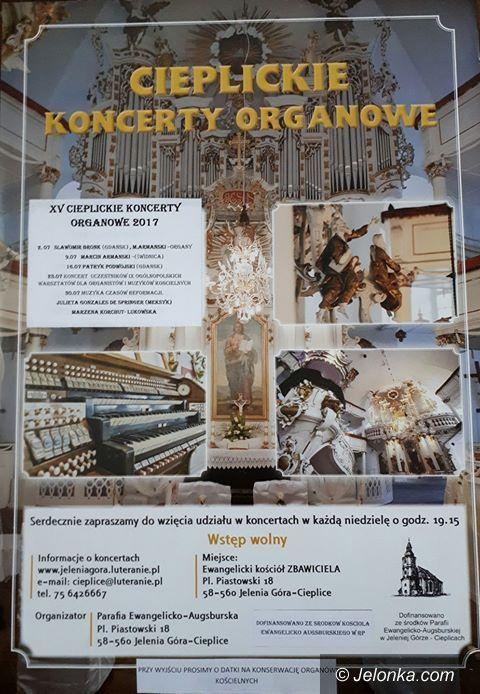 Jelenia Góra: XV Cieplickie Koncerty Organowe od jutra