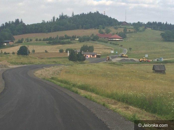 Region: Nowa droga na Łysą Górę prawie gotowa