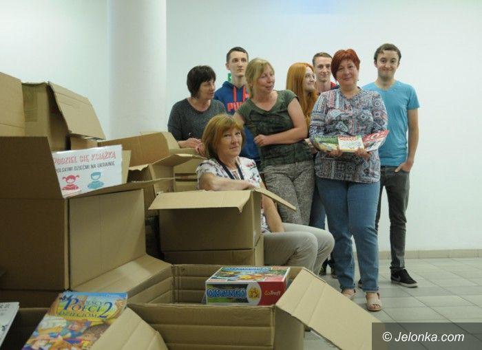 Jelenia Góra: 3,5 tysiąca książek dla dzieci na Ukrainie!