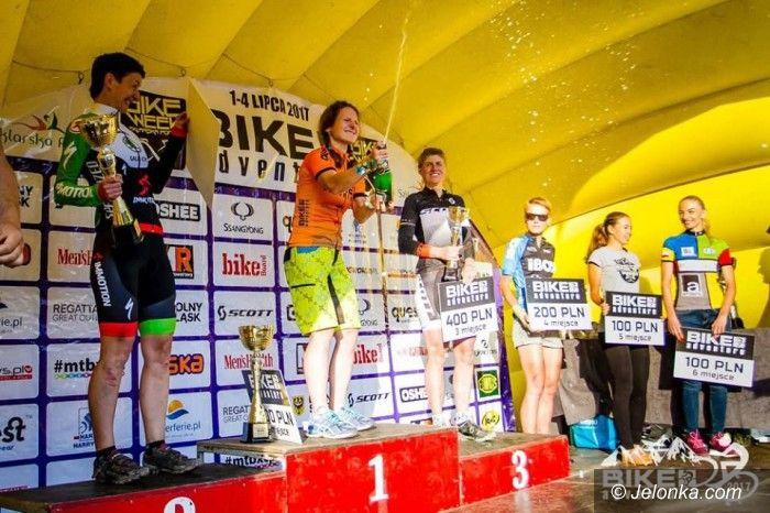 Szklarska Poręba: Bartosz Janowski i Nadia Kolomiets wygrywają Bike Adventure