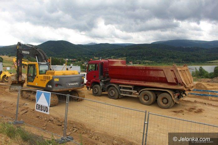 Region: Trwa budowa przy Zalewie Sosnówka