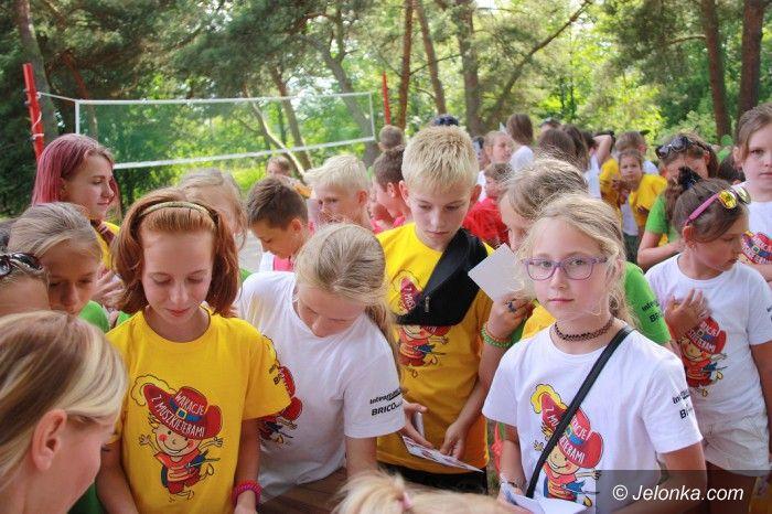 Jelenia Góra: Dzieci z Jeleniej Góry na wakacjach z Muszkieterami