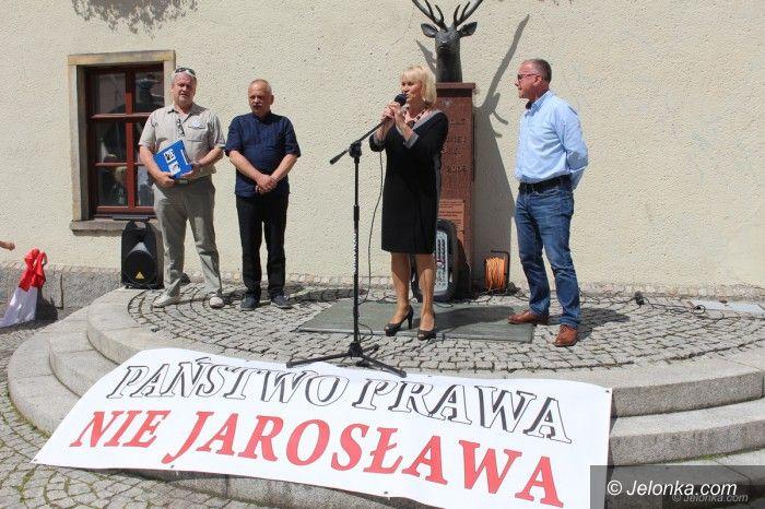 Jelenia Góra: Zjednoczona opozycja manifestowała