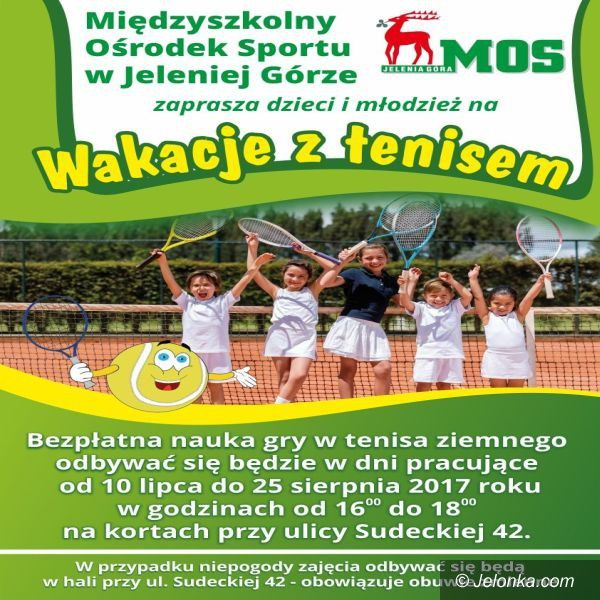 Jelenia Góra: Wakacje z tenisem