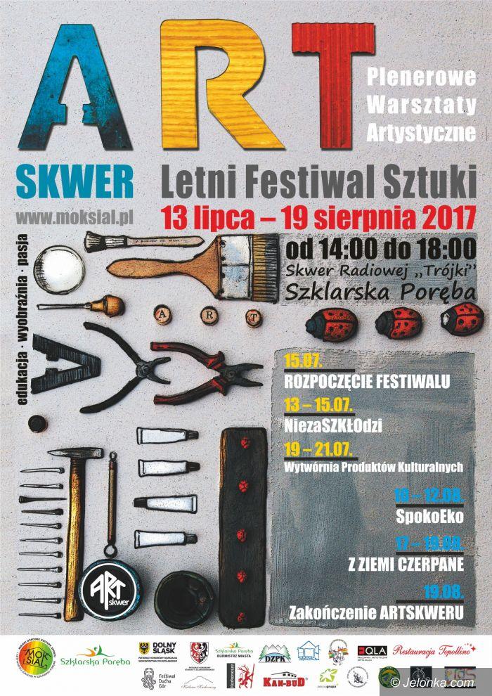Szklarska Poręba: Nie przegap! Trwa Festiwal ArtSkwer