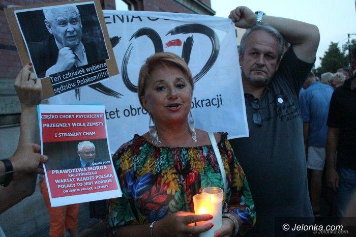 Jelenia Góra: Opozycja ponownie pod Sądem Okręgowym