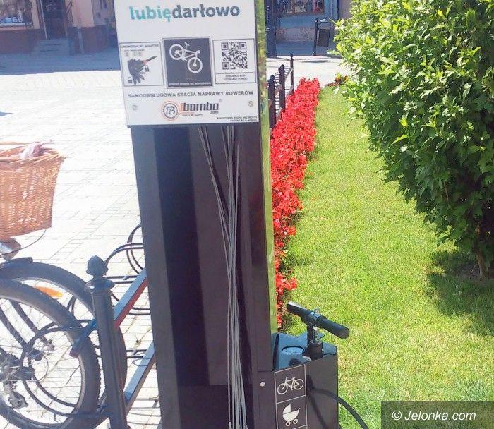 Jelenia Góra: Stacje naprawcze przy ścieżkach rowerowych?