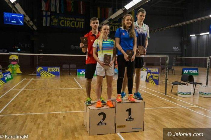 Wilno: Łukasz Cimosz na najwyższym stopniu podium!