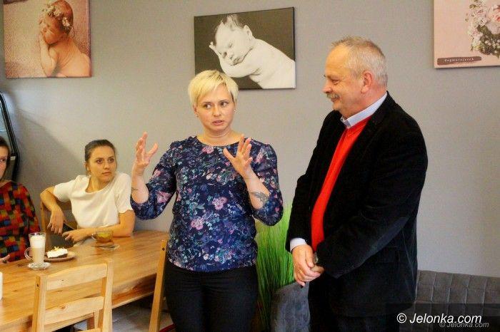 Jelenia Góra: Prezydent spotkał się z jeleniogórskimi mamami