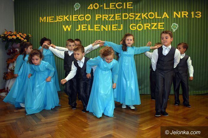 Jelenia Góra: Piękny jubileusz Przedszkola nr 13